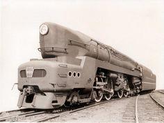 PRR T1 locomotive #5533 (streamline cowling designed by Raymond Loewy)