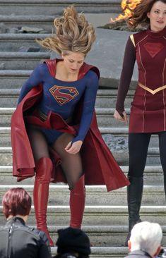 Melissa Benoist as Supergirl Melissa Benoit, Melissa Benoist Hot, Melissa Marie Benoist, Supergirl Season, Supergirl Tv, Melissa Supergirl, Cinema Tv, Female Superhero, Figure Skating Dresses