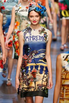 Dolce & Gabbana Spring 2016 // We pick our 5 trends from Milan Fashion Week