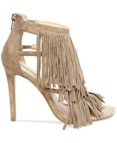 Our love affair with fringe just got way more serious — Steve Madden Fringly dress sandals