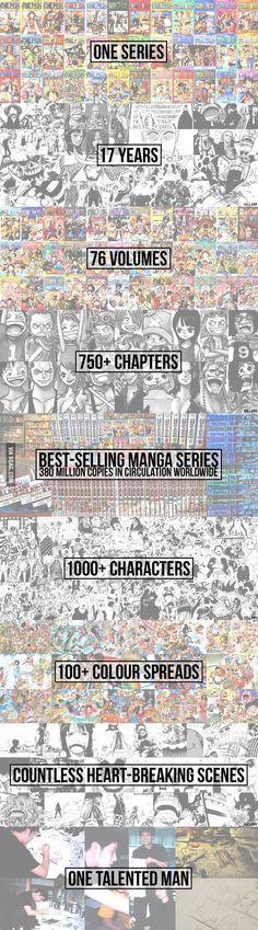 One Piece, señores..