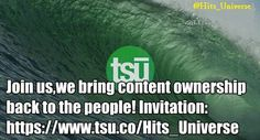 Join Us For Free On TSÚ.The Only Social Media That Pays You ! Join us on tsÚ, we're bringing content ownership back to the people! Local News, Universe, Join, Social Media, Group, Friends, Free, Boyfriends, Social Networks