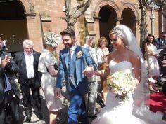 One of my lovely bride and grooms! Grooms, My Flower, Mermaid Wedding, Bride, Wedding Dresses, Shopping, Fashion, Wedding Bride, Bride Dresses