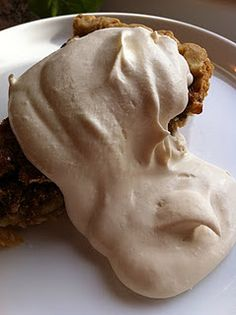 Brown Sugar Whipped Cream - good in the pumpkin trifle but what else can you think of for this delicacy?