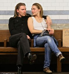 His biggest fan: Jemima Kirke appears to be enjoying a new romance with singer Alex Cameron as the duo were spotted together in New York on Monday