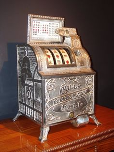 Shop for-and learn about-Antique and Vintage Slot Machines. Las Vegas and Atlantic City may be the gambling capitals of the United States, but the symbol of. Gambling Machines, Vending Machines, Casino Machines, Bingo, Arcade, Vintage Slot Machines, Juke Box, Betting Markets, Vegas Slots