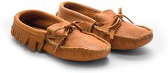 American Bison Leather Moccasins - Kaufmann Mercantile