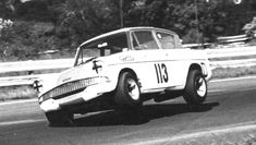 Roy Hesketh Circuit - Grenville Manton showing how not to take Angel's Angle in his Anglia Ford Anglia, Ford Classic Cars, Old Fords, Formula One, Circuit, Race Cars, South Africa, Pista, Auto Racing