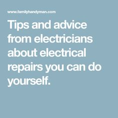How often do you have to fasten electrical cable to framing cable tips and advice from electricians about electrical repairs you can do yourself solutioingenieria Images