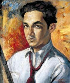 Yoryi Morel - Self Portrait (1941) | Dominican Cult