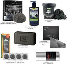 Charcoal Skincare Products: Black is Slimming for Pores too