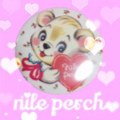 Nile Perch Metal badges