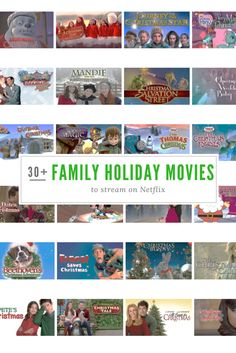 Over 30 holiday family movies to stream on netflix