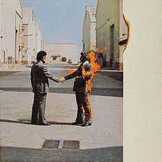 Wish You Were Here (Pink Floyd album) Famous Album Covers, Greatest Album Covers, Rock Album Covers, Music Album Covers, Classic Album Covers, Lp Cover, Vinyl Cover, Cover Art, Pochette Album