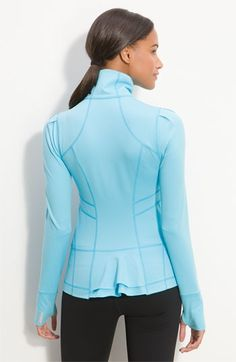 Zella 'Ruffle Statement' Jacket   Nordstrom - StyleSays