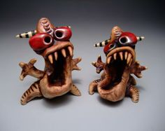 James DeRosso Monsters!!!!  Love 'em, too cute!!!!