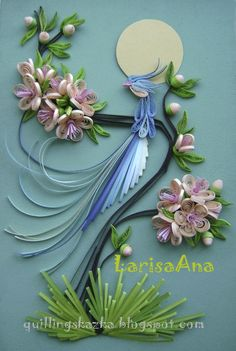Hamster Challenge: Such different quilling