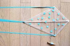 Kites For Kids, Paper Crafts, Diy Crafts, Centre, Origami, Scouts, Marius, Ideas Creativas, Windows