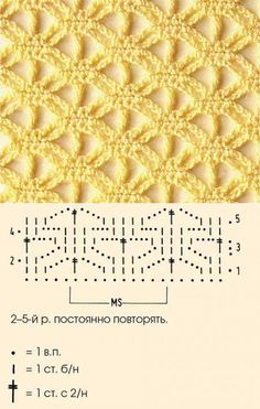 Ideas crochet lace scarf chart ganchillo for 2019 Filet Crochet, Crochet Diagram, Crochet Chart, Crochet Motif, Knit Crochet, Crochet Granny, Crochet Stitches Patterns, Knitting Stitches, Knitting Patterns