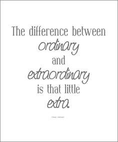 extraordinary ♥