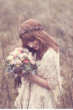 Zauberhafte Braut-Haarkränze von Milles Fleurs und Anja Schneemann Photography