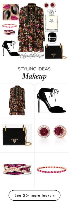 """Chic"" by teremllfashion19 on Polyvore featuring Tom Ford, Prada, Effy Jewelry, Chanel and Marc Jacobs"