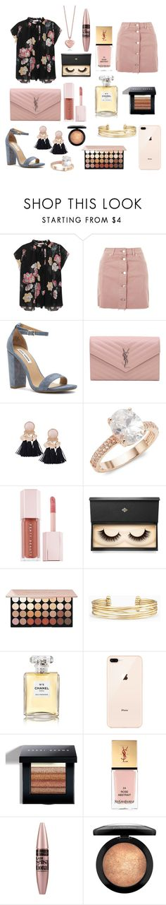 """""""Untitled #194"""" by unicornlover2017 ❤ liked on Polyvore featuring Ulla Johnson, Topshop, Steve Madden, Yves Saint Laurent, Saks Fifth Avenue, Puma, Lash Star Beauty, Stella & Dot, Chanel and Bobbi Brown Cosmetics"""