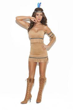 Women's Indian Princess Halloween Costume . Coming soon! Spirit Warrior Indian Adult Costume-Indian Costume-Elegant Moments.  PIN10 for 10% OFF. www.teezerscostumes.com