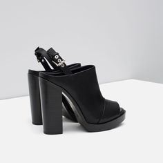 Image 4 of HIGH HEEL SLINGBACK SHOES from Zara