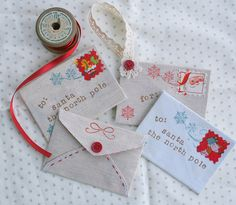 Letters to Santa Ornamanets  Could do this as a scrapbook item. Make a letter for each kid, including for past years and not what they asked Santa for. Save in a Christmas memory box or in a small scrapbook.