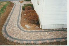 Pavers on Walkways Design Ideas - #PaverHouse http://www.paverhouse.com/ideas-for-paver-walkways/