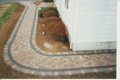 Pavers on Walkways Design Ideas - #PaverHouse  http://www.paverhouse.com/ideas-for-paver-walkways/