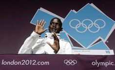 Guor Marial, a refugee competing at the London Olympics nearly 20 years after he was forced to flee from his village in South Sudan.  © Press Association