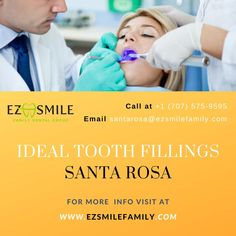 Tooth fillings in Santa Rosa, San Rafael, Napa, and San Francisco. Repair your tooth today with best dental care. Family Dental Care, Dental Group, Invisible Braces, Dental Fillings, Porcelain Veneers, Perfect Teeth, Dentists, Cosmetic Dentistry, Dental Implants