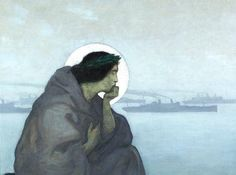 Our Mother, by N.C. Wyeth