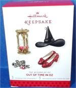 2013 Out of Time in Oz Hallmark Wizard of Oz LE Ornaments