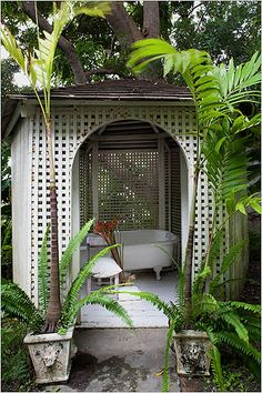 the man who builds me a gazebo with an outdoor bathtub in it is the man i will marry.