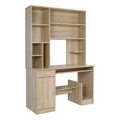 """Μοντέρνο γραφείο με συρτάρι ντουλάπι βιβλιοθήκη και έξυπνα σχεδιασμένους χώρους από τη νέα σειρά επαγγελματικών προδιαγραφών""""STATUS σε sonama"""