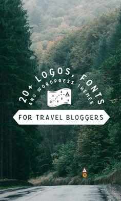 20+ Logos, Fonts & WordPress Themes for Travel Bloggers  Creative Market blog  www.creativemarket.com