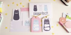 Puuurfect Cat Themed Printables — PETIT A PETIT +Family