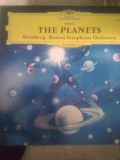 "Vinyl Record 12"" LP - Holst The Planets - Deutsche Grammophon Tulip  #Symphony"