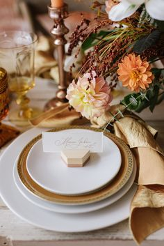Terra cotta, rust, burnt orange — whatever you call this rich, autumnal color — one thing is for sure! This wedding color is here to stay! Wedding Reception Decorations, Wedding Table, Wedding Venues, Reception Ideas, Trendy Wedding, Unique Weddings, Wedding Unique, Boho Wedding, Modern Place Card Holders