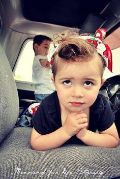 Rockabilly kids...Cute