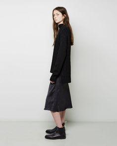 Woman by Common Projects   Leather Chelsea Boot   La Garçonne