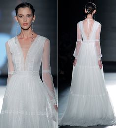 Vestidos de noiva Rosa Clará - Barcelona Bridal Week 2018 - Constance Zahn | Casamentos