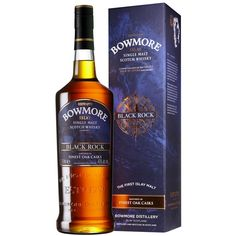 Le Single Malt Black Rock de Bowmore rend hommage à Loch Indaal.