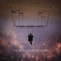 Maria Khan | via Facebook space  clouds,  swing