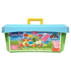 Peppa Pig Softee Dough Picnic Activity Tub,