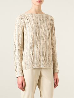 Ralph Lauren Black Chunky Knit Sweater - Satù - Farfetch.com