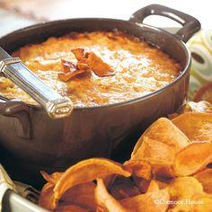 Gooseberry Patch Recipes: Caramelized Vidalia Onion Dip. Favorite mega-cheesy, sweet onion dip!
